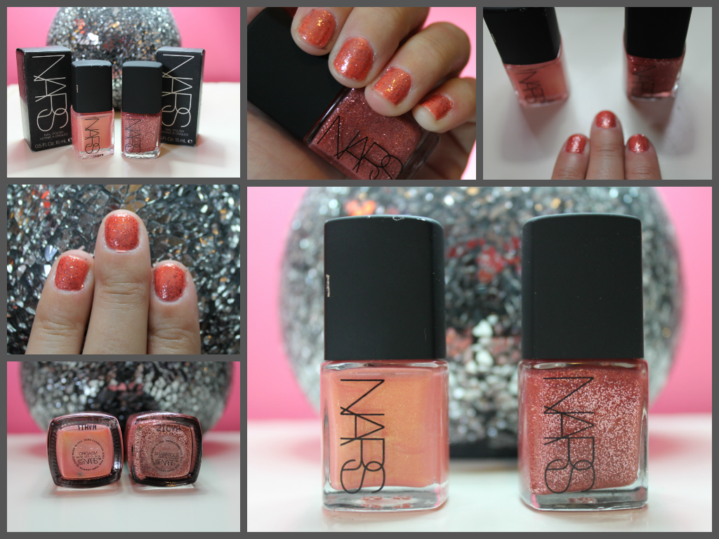 Nail Polish: Nars Orgasm and Nars Arabesque | Silly Rabbit