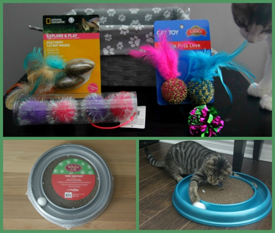 cat gifts collage