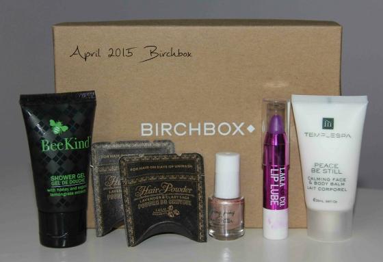 birchbox april 2015